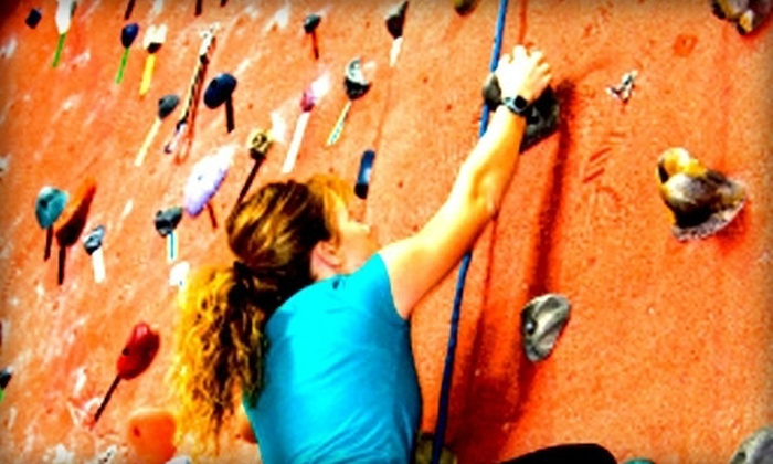 Stone Moves Indoor Rock Climbing - Houston: Rock Climbing at Stone Moves Indoor Rock Climbing Gym (Up to 53% Off). Three Options Available.