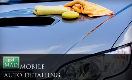 Get M.A.D. Mobile Auto Detailing: Van, SUV, or Truck Semi-Detailing  - Get M.A.D. Mobile Auto Detailing in