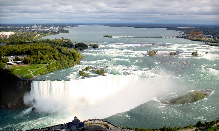 Embassy Suites by Hilton Niagara Falls – Fallsview Hotel  - Niagara Falls: $124 for a One-Night Stay for Two at Embassy Suites by Hilton Niagara Falls – Fallsview Hotel in Ontario (Up to $267 Value)