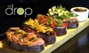The Drop Bistro - Union Hill: $10 for $25 Worth Of Small Plates, Cocktails, and More at The Drop Bar and Bistro