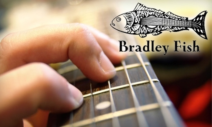 Bradley Fish Music - Madison: $28 for Two Half-Hour Private Lessons at Bradley Fish Music ($70 Value)
