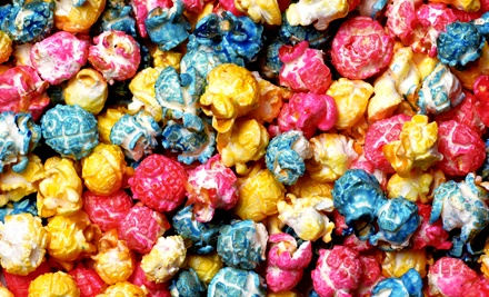 Gourmet Popcorn and Vintage Candy at Ms. Bee's Gourmet Popcorn & Candy Shoppe (Up to Half Off). Two Options Available.