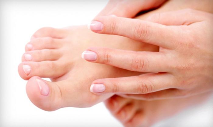 Serenity Nails & Spa - Serenity Nails & Spa: $25 Worth of Nail Services