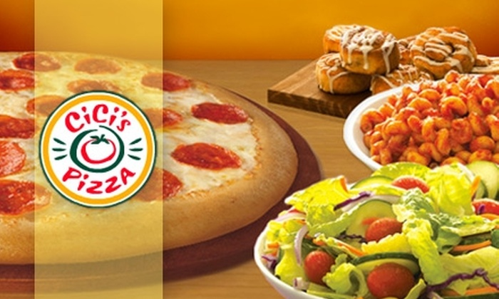 CiCi's Pizza - Multiple Locations: $5 for $10 Worth of Buffet-Style Pizza, Pastas, Salads, and More at CiCi's Pizza