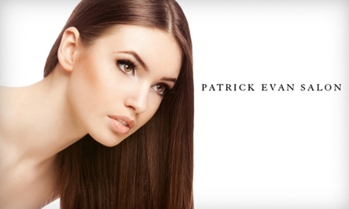 Patrick Evan Salon - Downtown: $185 for Brazilian Blowout or Keratin Smoothing Treatment and Free Aftercare Shampoo at Patrick Evan Salon