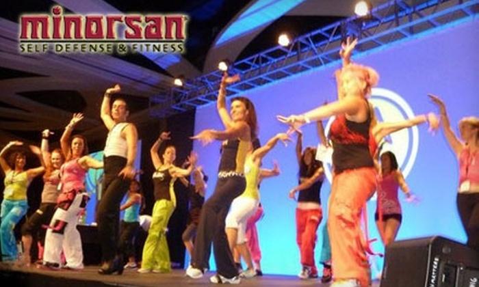 Minorsan Self-Defense & Fitness - Westside: $20 for Eight Zumba Classes at Minorsan Self-Defense & Fitness ($77 Value)