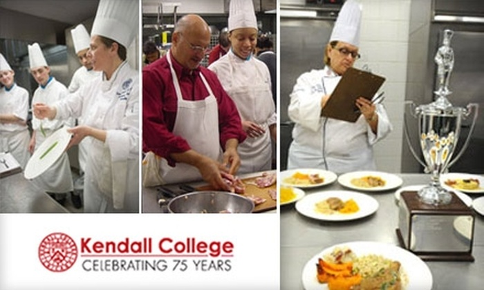 Kendall College - Near North Side: $45 for a Cooking Class at Kendall College ($85 Value)