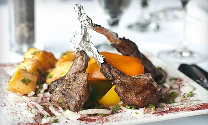Le Chef Restaurant - Farmington Hills: Lebanese Meal with Appetizers and Drinks for Two or Four at Le Chef Restaurant (Up to 44% Off)