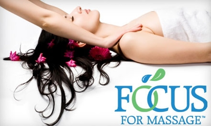 Focus 4 Massage - Chattanooga: $30 for a One-Hour Relaxation Massage at Focus 4 Massage ($65 Value)