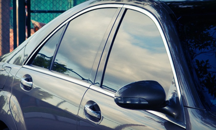 MoonShadow Window Tinting - Lake Highlands store: Car Window Tinting for Two Windows, Full Car, or Two Full Cars at MoonShadow Window Tinting (Up to 63% Off)