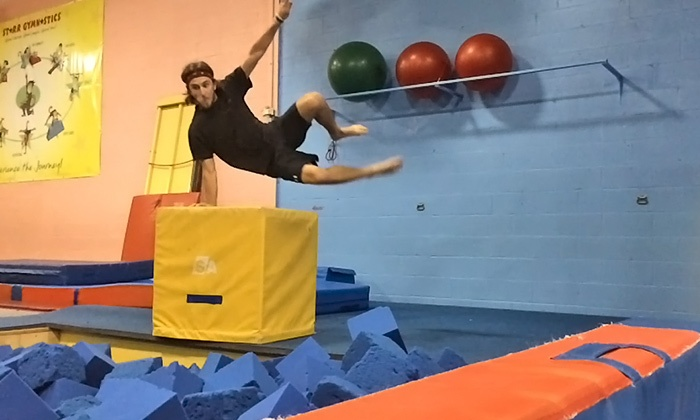 Starr Gymnastics & Fitness - Multiple Locations: C$145 for 12 Weeks of Free G Classes for One Child at Starr Gymnastics & Fitness (C$290 Value)