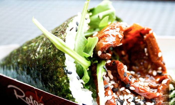 Rafa's Temaki - Dublin 2: Temaki, Salmon Dolls and Drink for One or Two at Rafa's Temaki (32% Off)