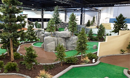 Mini Golf with Ice Cream for Up to Two, Four, or Eight at Greenhouse Golf