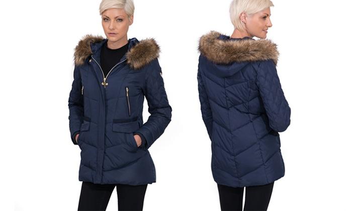 e92bc4a4b Kensie Women's Down Coats (Size XS) | Groupon