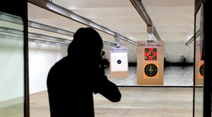 Colonial Shooting Academy: Range or Machine Gun Packages or Basic Pistol or CCW Class at Colonial Shooting Academy RVA (Up to 63% Off)