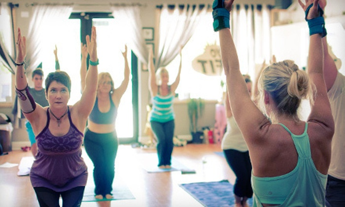 Fusion Fitness & Yoga - City Center: 10 or 20 Yoga or Fitness Classes at Fusion Fitness & Yoga (Up to 69% Off)