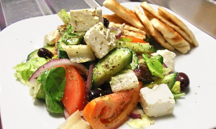 The Mad Greek - Cleveland Heights: Greek and Indian Cuisine for Lunch or Dinner at The Mad Greek (Up to 42% Off). Three Options Available.