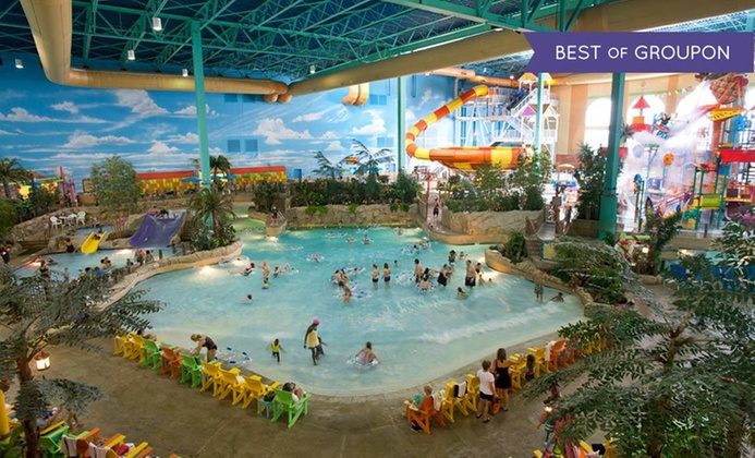 Chicagoland Water Park Resort with Park Passes