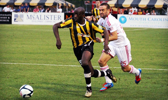 Charleston Battery - Charleston: Charleston Battery Soccer Game for Two or Four at Blackbaud Stadium on Daniel Island (Half Off)