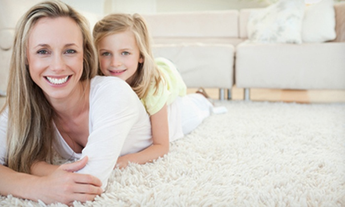 OOPS! Oxygenated Cleaning Services - Steele Creek: Carpet Cleaning for Three Rooms with Option for Deodorizer from Oops! Oxygenated Cleaning Services (Up to 56% Off)