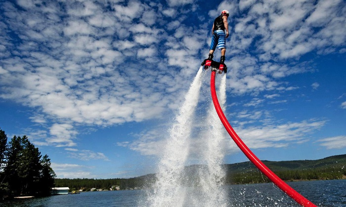 Gorge Flyboard - Multiple Locations: 30-Minute Intro FlyBoard Flight for One or Two at Gorge Flyboard (Up to48% Off)