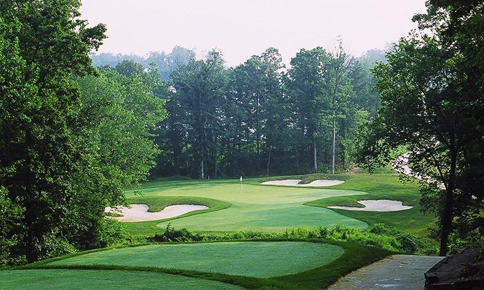 Cross Creek Golf Club - Beltsville: $36 for 18-Hole Round of Golf with Cart & Bucket of Range Balls at Cross Creek Golf Club ($62 Value)