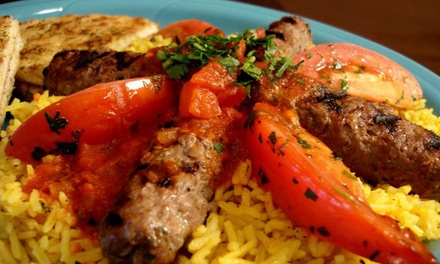 Mediterranean Food for Two or Four for Dine-In at Goood Frikin Chicken (Up to 42% Off)