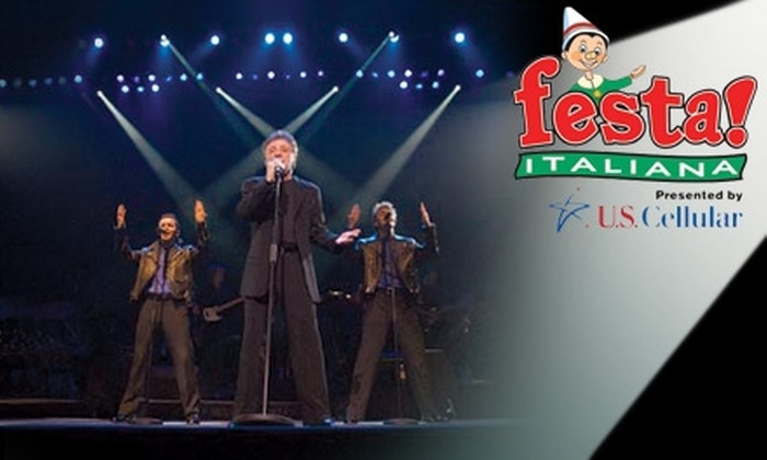 Festa Italiana - Historic Third Ward: $19 Ticket to Frankie Valli and The Four Seasons Plus All-Day Admission to Festa Italiana on Sunday, July 18 ($37 Value)
