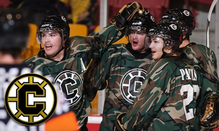 Chilliwack Bruins - Chilliwack Proper Village West: $26 for Two Tickets to Chilliwack Bruins Game and Two Hats