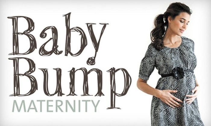 Baby Bump Maternity - Garden District: $25 for $50 Worth of Maternity Clothing at Baby Bump Maternity