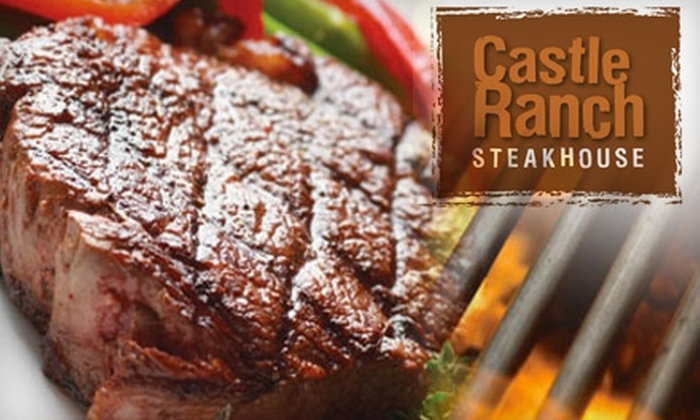 Castle Ranch Steakhouse - Sunrise Rim: $20 for $40 Worth of Grilled Fare and Drinks at Castle Ranch Steak House