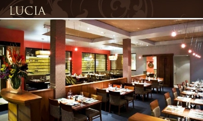 Lucia - Albuquerque Original Townsite: $20 for $40 Worth of Mediterranean Fare at Lucia and Free Cover for Two at Casablanca