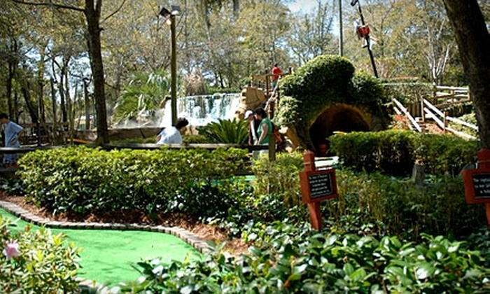 Pirates Island Adventure Golf - Hilton Head Island: $14 for Two All-Day Passes to Pirate's Island Adventure Golf (Up to $29.50 Value)