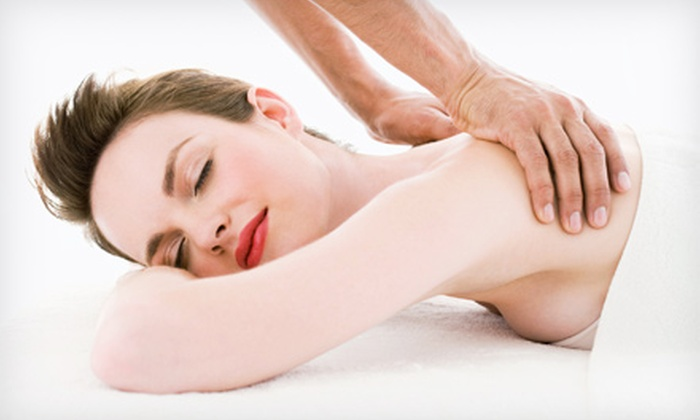 Serenity Massage & Spa - Media: Swedish Massage with Optional Infrared Treatment or a Body-Shaping Treatment at Serenity Massage & Spa (Up to 64% Off)