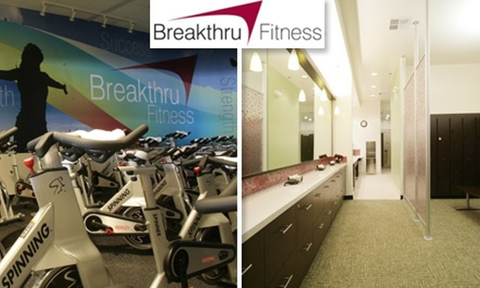 Breakthru Fitness - Pasadena: $35 for a One-Month Membership to Breakthru Fitness