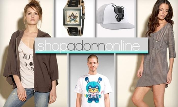 Shop Adorn - Eliot: $25 for $50 Worth of Designer Wares at Shop Adorn
