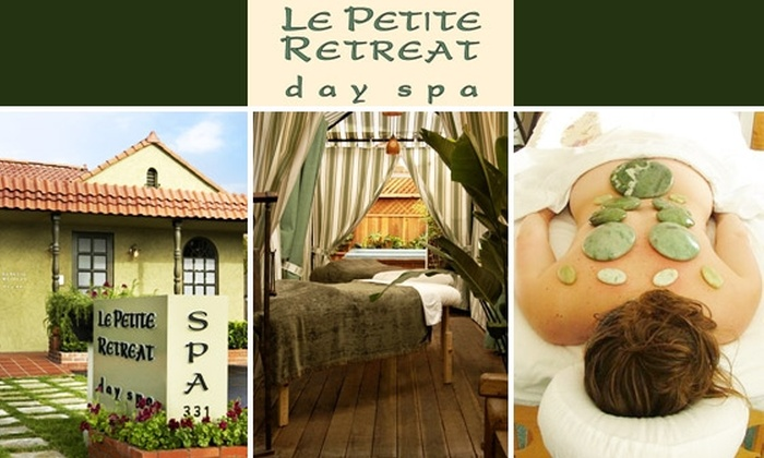 Le Petite Retreat day spa - Mid-Wilshire: Hour-Long Jade Stone Massage at Le Petite Retreat Day Spa