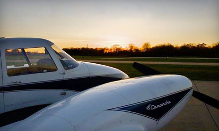 Great Lakes Air Ventures - Charlotte: Flight Lesson, Discovery Flight for Up to Three, or Pilot Ground School from Great Lakes Air Ventures (Up to 52% Off)
