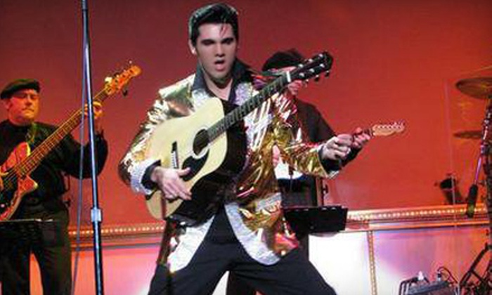 """""""Heart of the King: A Tribute to Elvis"""" - Hippodrome at France-Merrick Performing Arts Center: $35 to See """"Heart of the King"""" at Hippodrome at France-Merrick PAC on May 18 at 2 p.m. or 8 p.m. (Up to $70.55 Value)"""