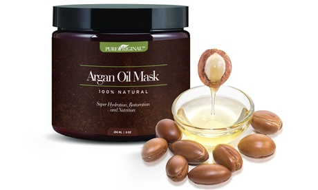 Pure Original Organic Argan Oil Hair Mask (8 Fl. Oz.) ed0a8b22-6b24-11e7-bedc-002590604002