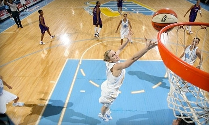 Chicago Sky - Rosemont: $15 for Two Zone-Level Tickets to a Chicago Sky WNBA Basketball Game in Rosemont ($30 Value). Five Options Available.