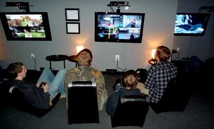 Strafe Gaming Lounge: Unlimited 1-Day Pass for 2 People  - Strafe Gaming Lounge in Fuquay Varina