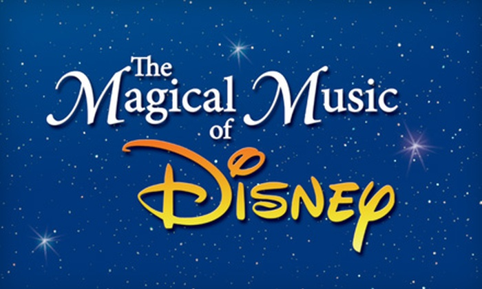 """Victoria Symphony - Downtown: One Ticket to """"The Magical Music of Disney"""" Presented by the Victoria Symphony at the Royal Theatre. Four Options Available."""