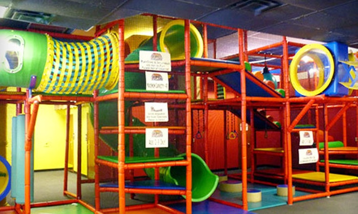 County Fair Fun Company - Sioux Falls: $6 for Four Bumper-Car Rides or Inflatable Play-Dome Sessions at County Fair Fun Company in Brandon ($12 Value)