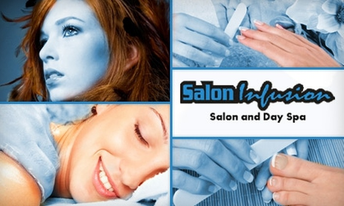 Salon Infusion - Boerne: $79 for Your Choice of Four Spa Services at Salon Infusion (Up to $198 Value)