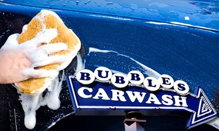 Bubble's Car Wash - Dorchester: $25 for Three Car Washes at Bubbles Car Wash ($54 Value)