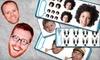 My Sticker Face.com: Custom Sticker Portraits from My Sticker Face.com (Up to 60% Off)
