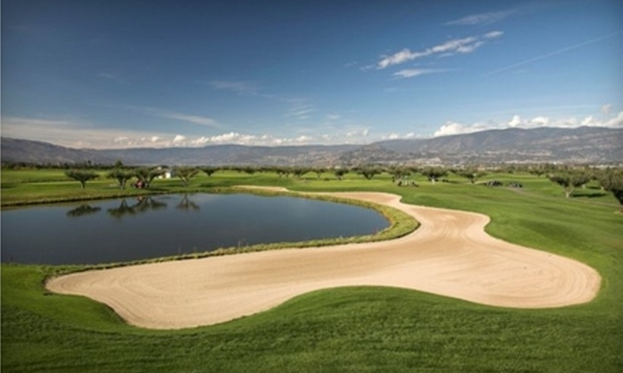 The Harvest Golf Club - Southeast Kelowna: $44 for a $100 Practice On-Demand Key Card at The Harvest Golf Club ($88 Value)