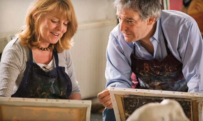 Bountiful Arts - Waterville: $29 for a BYOB Painting Class on March 10 or 24 or April 14 or 28 at Bountiful Arts ($60 Value)