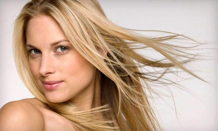 Aqua Salon and Day Spa - Tucker: One or Two Coppola Keratin Treatments at Aqua Salon and Day Spa in Tucker (Up to 70% Off)